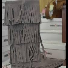 womens fringe boots size 11 49 minnetonka boots minnetonka fringe boots size 11 from