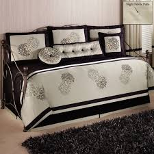 laura ashley girls bedding home decoration luxurious daybed comforter sets with black fur