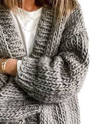 how does it take to knit a sweater chunky knit cardigans winterwear chunky knit