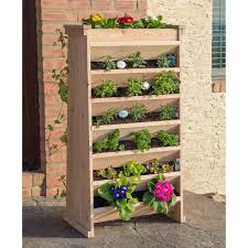 Self Watering Vertical Garden Vertical Planter Natural Cedar