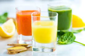 green drink three ginger power shot recipes