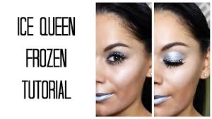 frozen ice queen halloween makeup tutorial beauty u0027s big sister