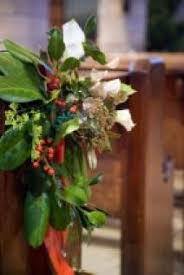 church pew decorations tips for church wedding decorations