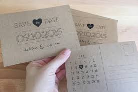 unique save the date cards rustic paper diy save the date cards materials faded colored