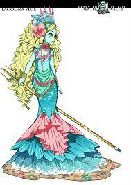 Monster High Lagoona Blue Halloween Costume by Death Waltz Lagoona Blue By Oskar Vega Raspbeary Monster High