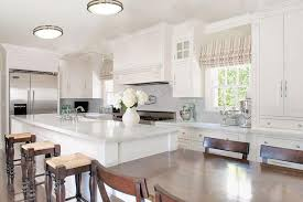 kitchen lights ideas considering the combination between furniture and kitchen ceiling
