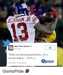 Ny Giant Memes - delkham jr new york giants ty these are learning experiencesit s a