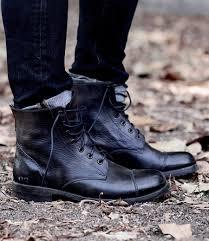 men u0027s leather boots wingtip cap toe rugged bed stu