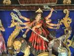 Wallpapers Backgrounds - Maa Durga Idol Navankur Club Kanchrapara