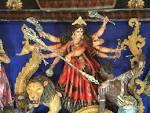 Wallpapers Backgrounds - Maa Durga Idol Navankur Club Kanchrapara
