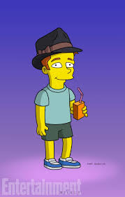the simpsons ed sheeran first look at singer on the simpsons
