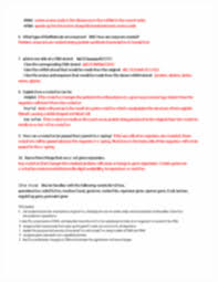 unit 5 study guide answers biology unit 5 exam study guide dna