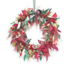 ribbon wreath classic 12 inch christmas ribbon wreath kit christmas