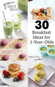 30 breakfast ideas for a 1 year modern parents