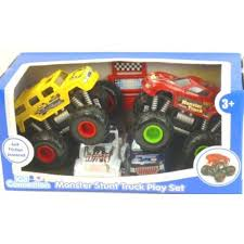 Kid Connection Monster Truck Black Red Walmart