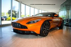 aston martin db11 interior aston martin db11 touches down in calgary gtspirit