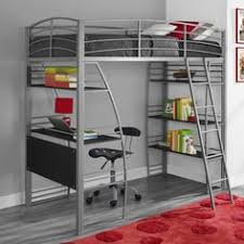 Loft Bed With Desk And Futon Walker Edison Black Metal Twin Futon Bunk Bed Size Full Twin