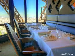 eiffel tower interior le jules verne restaurant eiffel tower paris travel to eat