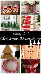 and easy diy decorations for a festive home