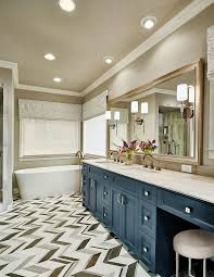 vancouver 46 bathroom vanity contemporary with gray mosaic tile