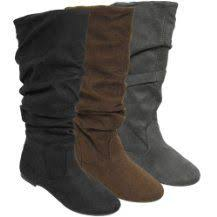 s boots walmart canada brinley co s slouchy microsuede boots http walmart
