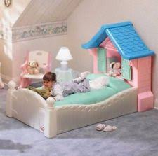 Step 2 Storybook Cottage Used by Little Tikes Bed Ebay