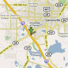 gainesville map 8 gainesville fl hotel map directions hotels in
