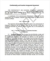 assignment agreement patent assignment agreement sample