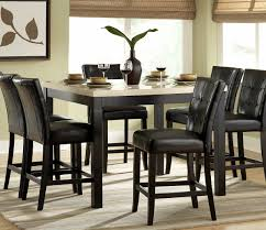 Black Dining Room Table And Chairs by 7 Piece Black Dining Room Set Gen4congress Com