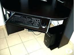 bureau d angle noir laqué bureau d angle noir laquac bureau d angle noir laquac bureau dangle