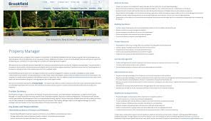Property Manager Duties For Resume How To Write A Condominium Property Manager Job Description