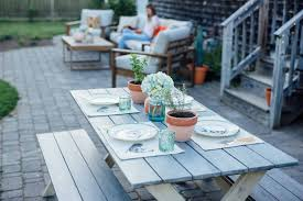 our outdoor patio design jess ann kirby