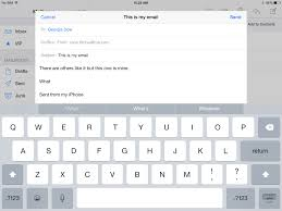 email keyboard layout iphone ios 8 review imore