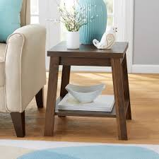 mainstays logan side table multiple finishes walmart com