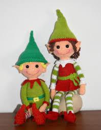 christmas elves amigurumibb crochet u003c3 pinterest elves