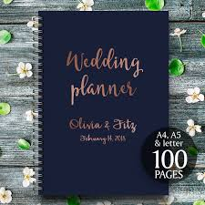 Wedding Binder Cover Page Template by Printable Wedding Planner Copper Wedding Planner Copper Wedding