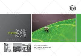 dreams clean photo album indesign templates by graphicartist
