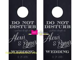 wedding door hanger template ideal wedding door hangers template free template 2018free