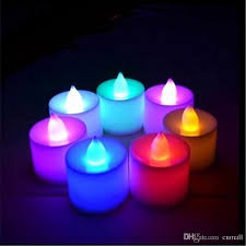 best quality led electronic candle tea light l many color led