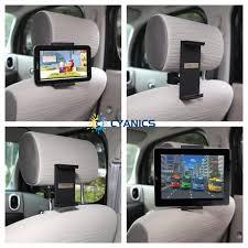 2gotablet ipad holder for the car mount between headrests for