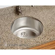 round stainless steel kitchen sink polaris 18 inch round stainless steel undermount bar sink bbq guys