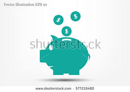 his and hers piggy bank piggy bank stock images royalty free images vectors