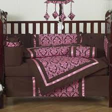 Pink And Brown Damask Crib Bedding 8 Appealing Pink And Brown Damask Crib Bedding Pic Raising Gigi