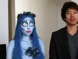 emily corpse bride halloween tutoral youtube