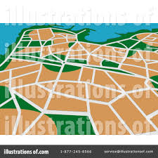 Gps Map Gps Map Clipart 1065991 Illustration By Vector Tradition Sm