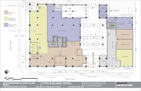 hotel privo de3 group archdaily basement floor plan haammss