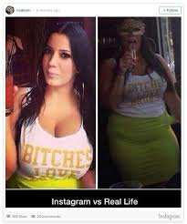 Real Life Meme - instagram vs real life meme
