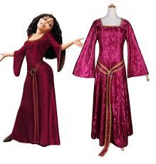 disney tangled rapunzel princess dress halloween cosplay costume