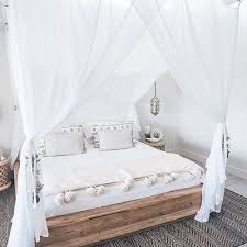 Bed Canopy Curtains Bedroom Romantic Bedroom With Rustic Bedroom Also White