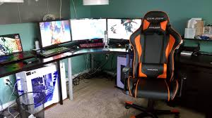 gaming setup office setup 2015 youtube